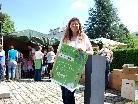 Ingrid Benedikt freut sich über den Erfolg der zweiten Ausgabe der Umweltwoche.