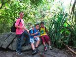 Kagan, Dragi und Abdullah fühlten sich im madagassischen Regenwald besonders wohl
