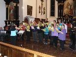 Kirchenchor Bludenz gestaltet demnächst Gottesdienst in Raggal.