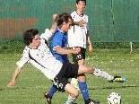 Mäder-Youngster Rene Simon spielte von Beginn an im Angriff.