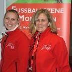 Mag. Daniela Vonbun und Tanja Starl hatten alle Hände voll zu tun.