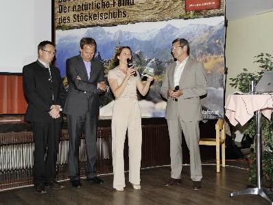 Martina Rüscher führte souverän durchs Programm