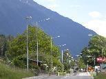 Neue Straßenbeleuchtung in Gantschier