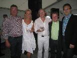 Paul Hehle, Sandrina und Dietmar Loser-Speth, Wolfgang Wanner und Helly Kumpusch.