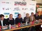 Pressekonferenz für die Oe-Radtour in Bludenz.