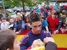 Schrieb in Schruns zahlreiche Autogramme: Fernando Torres