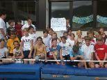 Schülerinnen und Schüler der VMS freuten sich auf einen fairen Wettkampf