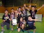 Siegreiches Völkerballteam der HS Rieden