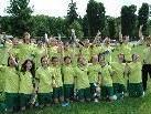 So sehen Sieger aus. Meisterteam U 18 Mädchen FC Sulz!