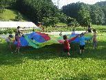 Spielefest am Sunnahof - Schwungtuch