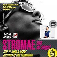 Stromae live in der Passage