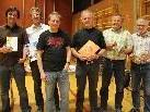 Supro-Referent Gert Burger (3.v.l.) mit Regio-GF Christof Thöny, den Bürgermeistern Christian Gantner (Dalaas) und Edmund Burtscher, Dir. Helmut Rauch und Vize-Bgm. Helmut Burger (v.l.).