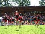 Turnsport der Extraklasse beim Landessportfest im Möslestadion.