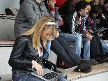 Viele Medienvertreter werden über das Cupfinale am Mittwoch in Hohenems berichten.