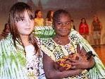 Volksschüler aus Schlins, Röns und Thüringen laufen für afrikanische Waisenkinder um die Wette.