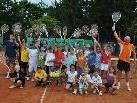 25 Kinder besuchten den ersten Teil der Tennis-Ferien-Woche des TC Hörbranz.