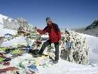 Andreas führt mit seinem Vortrag hautnah durch Nordindien und Nepal