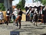 """Das Tanz- und Musikensemble """"Furiant"""" aus Tschechien gestaltet das Trachtenfest mit."""