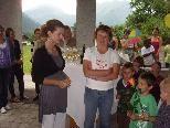 Der Kindergarten in Schoppernau war Schauplatz einer ganz besonderen Vernissage.