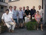 Der neue Ausschuss der Sektion Schilauf des SV Lochau mit Christl Gerhalter, Obfrau des Gesamtsportvereines.