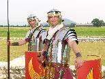 Die Besucher konnten viel Interessantes über die römischen Legionäre erfahren.