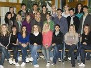 Die Maturanten der 2KOLL der Tourismusschule Bludenz