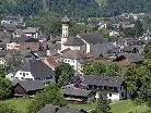 Die Sitzung der Gemeindevertretung von Schruns wird am Mittwoch, dem 14. Juli, stattfinden. Bild: Der Schrunser Ortskern am 13. Juli 2010.