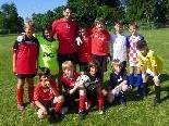 Die Super-Elf beim Fußballcamp