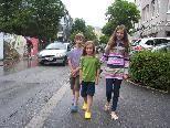Die zur Zeit stark befahrene Mozartstraße und Jahngasse, werden ab Herbst wieder täglich von vielen Kindern als Schulweg benutzt.