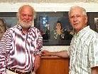 Dietmar Wanko (li.) mit FIAP-Präsident Emile Wanderscheid.