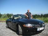 Edi Dizdaric erfüllte sich den Traum von einem eleganten und dynamischen Roadster.