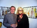 Festspielintendant David Pountney und Kostüm- und Bühnenbildnerin Marie-Jeanne Lecca.