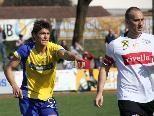 Igor Manojlovic (r.) spielt nun beim FC Höchst.
