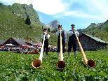 In einzigartiger Kulisse, einzigartige Klänge: der Musig-Hock auf der Laguz-Alpe.
