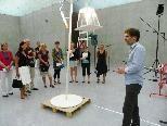 Interessierte Pädagogen im Kunsthaus