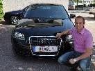 Josef Mager schätzt seinen Audi A3 Sportback.