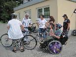 Jung und alt nahmen am Sommerfest des Elternvereins für Menschen mit Behinderung teil.