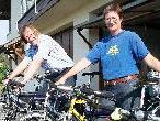 """Martin Scheuermaier, Koordinator des Mobilitätsmanagements im Vorarlberger Landhaus, ist gemeinsam mit Gattin Martina im privaten Haushalt """"autofrei"""":"""