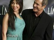Mel Gibson und Oskana an glücklicheren Tagen