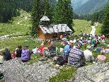 Messe auf der Alpe Dürrwald