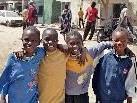 Mit der Aktion wird Schulgeld für Kinder im Senegal gesammelt.