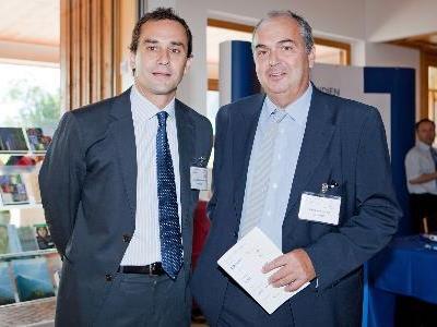 Sportler-Leistenbruch-Spezialisten: Dr. Morales-Conde (Spanien) und Dr. Scheyer (LKH Bludenz)