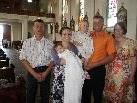 Taufe von Sophia in der Pfarrkirche Lauterach