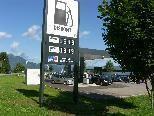 Bild: 0,999 Euros kosten ein Liter Diesel oder ein Liter Superbenzin an der neuen Discount-Tankstelle in Rankweil-Brederis.