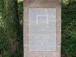 Bild: Die erste der acht Station (Stelen) des wunderschönen Vaterunser-Weg von der Wolfgangkapelle bis nach St. Corneli.