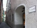 Bild: In der Feldkircher Rosengasse sollen im Mittelalter Kleinbordelle etabliert gewesen sein.