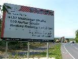 Bild: Von Gisingen (Gatterweg) nach Brederis (Seeblick) wird ein neuer 1,5 km langer Radweg gebaut.