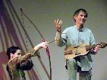 Bogen und Instrument