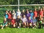 Die Fussballgirls des ESV hoffen am Sonntag auf zahlreiche Unterstützung.