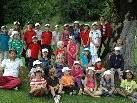 Die Kinder und Jugendlichen hatten sichtlich Spaß beim Golfcamp im August